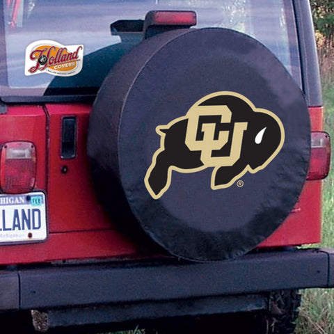 Colorado Buffaloes Tire Cover by Holland Covers