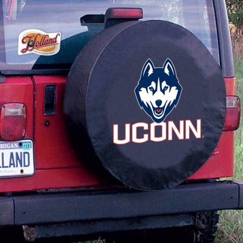 Connecticut Huskies Tire Cover by Holland Covers