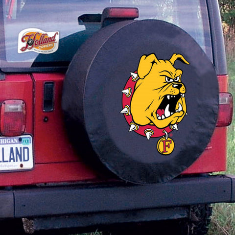 Ferris State Bulldogs Tire Cover by Holland Covers