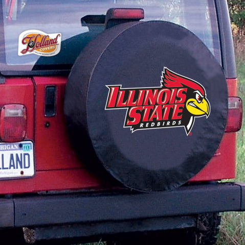 Illinois State Redbirds Tire Cover by Holland Covers