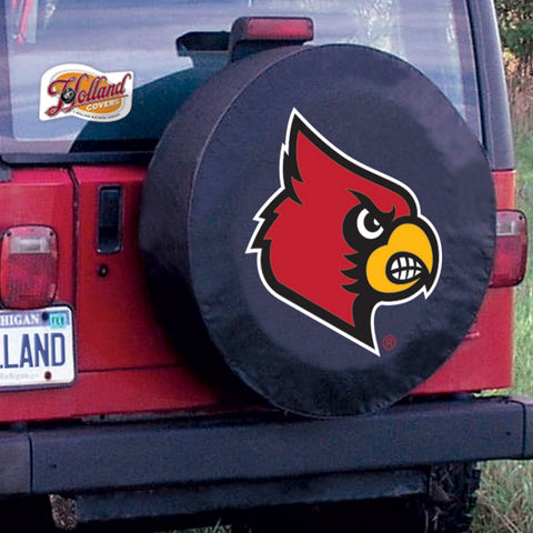 Louisville Cardinals Tire Cover by Holland Covers