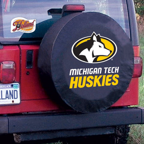 Michigan Tech Huskies Tire Cover by Holland Covers
