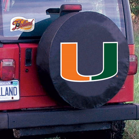 Miami Hurricanes Tire Cover by Holland Covers
