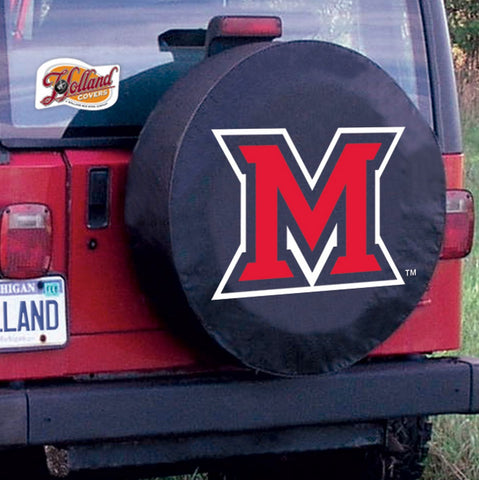 Miami Redhawks Tire Cover by Holland Covers