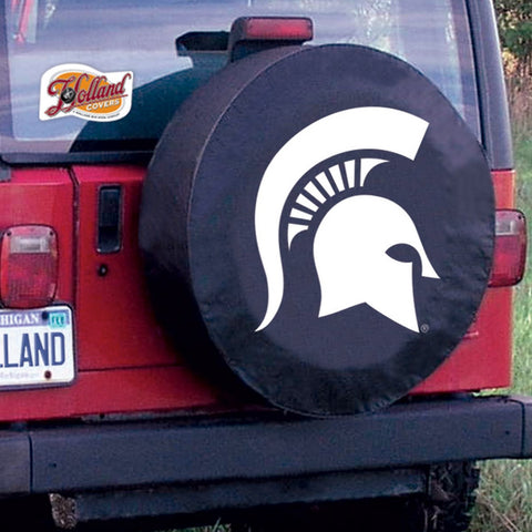 Michigan State Spartans Tire Cover by Holland Covers
