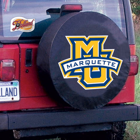 Marquette University Golden Eagles Tire Cover by Holland Covers