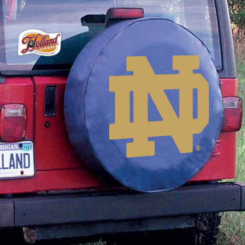 Notre Dame Fighting Irish Tire Cover by Holland Covers