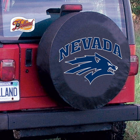 Nevada Wolf Pack Tire Cover by Holland Covers