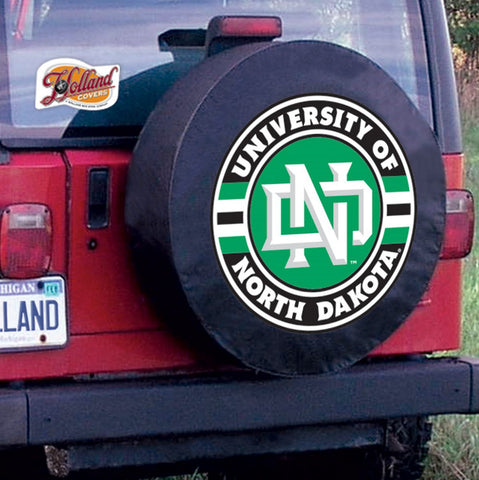 North Dakota Fighting  Hawks Tire Cover by Holland Covers