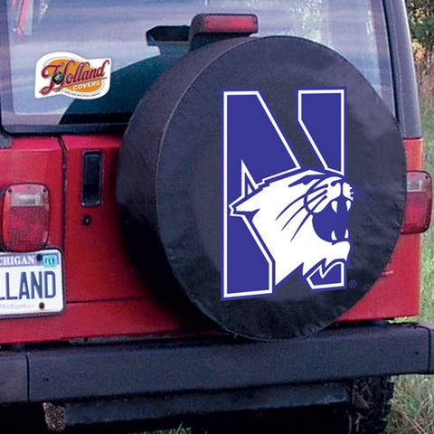 Northwestern  Wildcats Tire Cover by Holland Covers