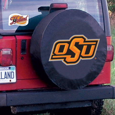 Oklahoma State Cowboys Tire Cover by Holland Covers