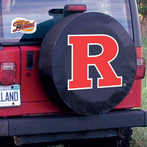 Rutgers Scarlet Knights  Tire Cover by Holland Covers
