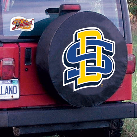 South Dakota State  Jackrabbits Tire Cover by Holland Covers