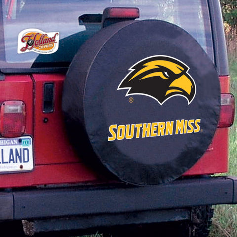 Southern Mississippi Golden Eagles Tire Cover by Holland Covers