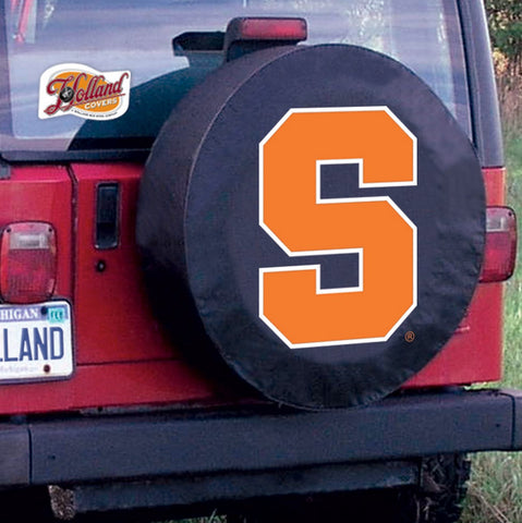 Syracuse Orange Tire Cover by Holland Covers