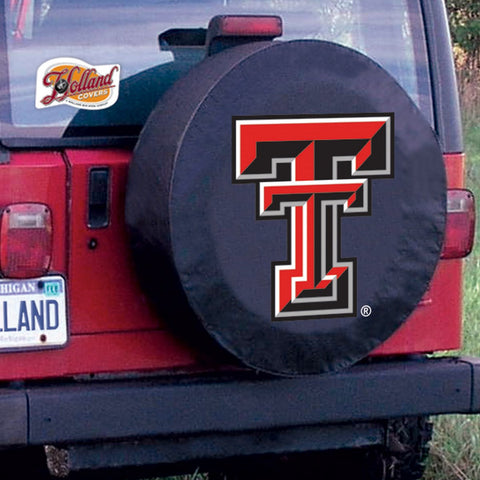 Texas Tech Red Raiders Tire Cover by Holland Covers