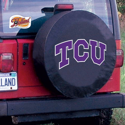 Texas Christian  Horned Frogs Tire Cover by Holland Covers