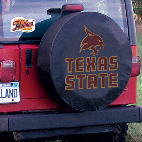 Texas State Bobcats Tire Cover by Holland Covers