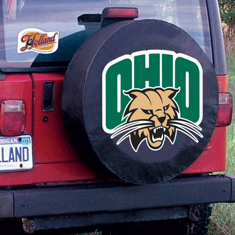 Ohio  Bobcats Tire Cover by Holland Covers
