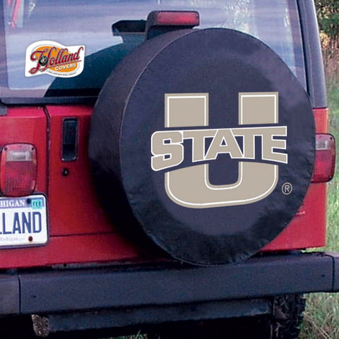 Utah State Aggies Tire Cover by Holland Covers