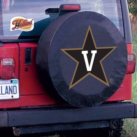 Vanderbilt  Commodores  Tire Cover by Holland Covers