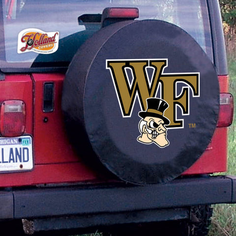 Wake Forest Demon Deacons  Tire Cover by Holland Covers
