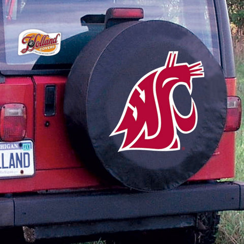 Washington State Cougars Tire Cover by Holland Covers