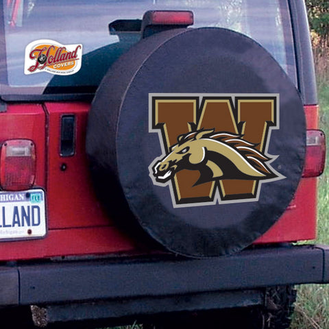 Western Michigan Broncos Tire Cover by Holland Covers