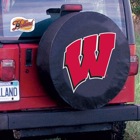 Wisconsin Badgers Tire Cover by Holland Covers