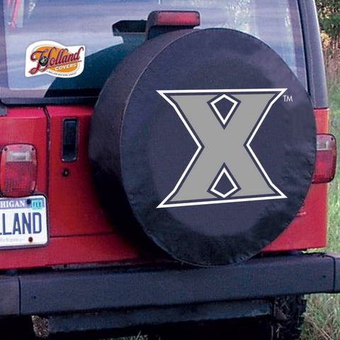 Xavier Musketeers Tire Cover by Holland Covers