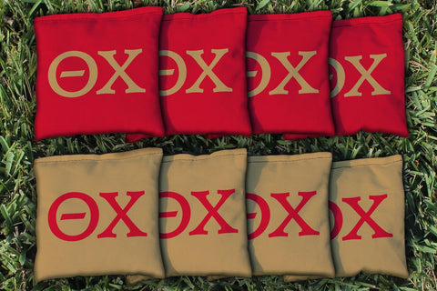 Theta Chi Replacement Cornhole Bag Set  (corn filled)