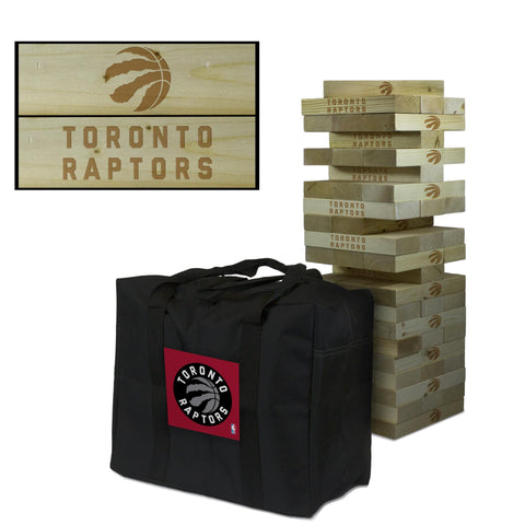 The Toronto Raptors Giant Jenga Tumble Tower Game