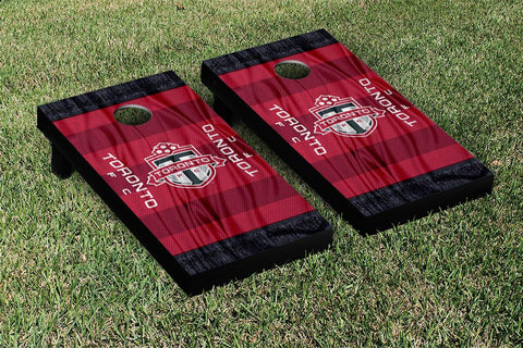 Toronto FC MLS Soccer Scarf Version Cornhole Game Set by Victory Tailgate