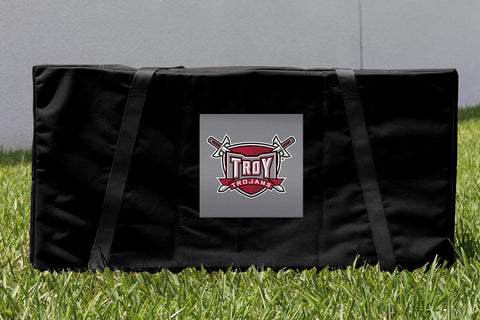 Troy University Trojans Cornhole Storage Carrying Case Victory Tailgate 18909