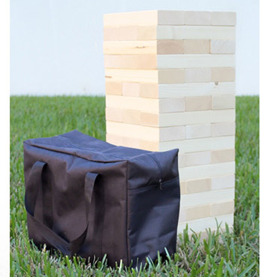 Giant Jenga Tumble Tower Game with carry case