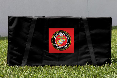 US Marine Corps Cornhole Carrying Case Victory Tailgate
