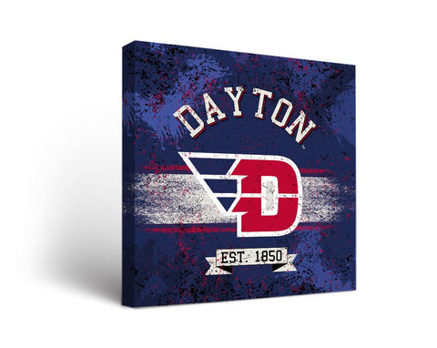 University of Dayton Flyers Man Cave wall art - Banner Design