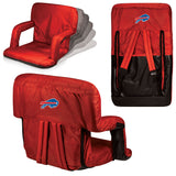 The Buffalo Bills Ventura Seat for tailgating, stadiums and bleachers by Picnic Time