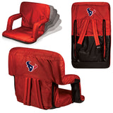 The Houston Texans Ventura Seat for tailgating, stadiums and bleachers by Picnic Time