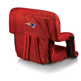 The New England Patriots Ventura Stadium Seat and Bleacher Cushion Chair