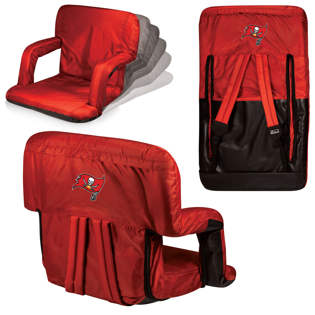 The Tampa Bay Buccaneers Ventura Stadium Seat and Bleacher Cushion Chair