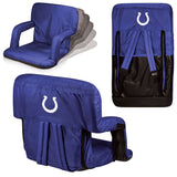 The Indianapolis Colts Ventura Seat for tailgating, stadiums and bleachers by Picnic Time