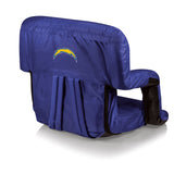 The San Diego Chargers Ventura Stadium Seat and Bleacher Cushion Chair