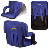 The San Diego Chargers Ventura Seat for tailgating, stadiums and bleachers by Picnic Time