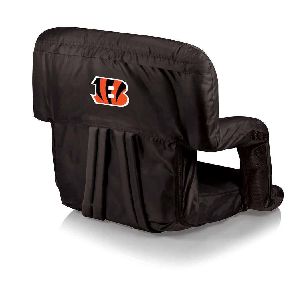 The Cincinnati Bengals Ventura Stadium Seat and Bleacher Cushion Chair