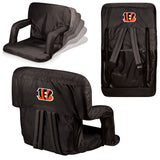 The Cincinnati Bengals Ventura Seat for tailgating, stadiums and bleachers by Picnic Time