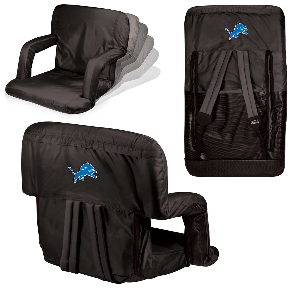The Detroit Lions Ventura Stadium Seat and Bleacher Cushion Chair