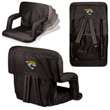 The Jacksonville Jaguars Ventura Seat for tailgating, stadiums and bleachers by Picnic Time