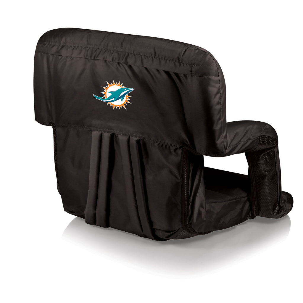 The Miami Dolphins Ventura Stadium Seat and Bleacher Cushion Chair