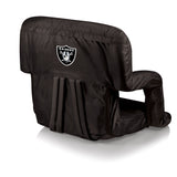 The Oakland Raiders Ventura Stadium Seat and Bleacher Cushion Chair
